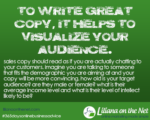 Copywriting: Really Sell to Your Target Audience
