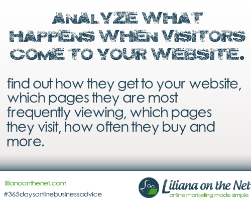 Analyze Website Visitors