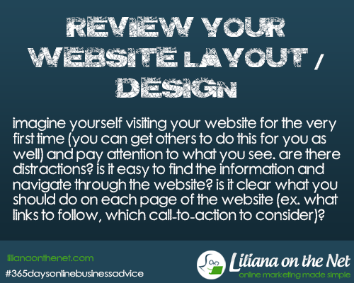 Website Design: review Your Website Layout