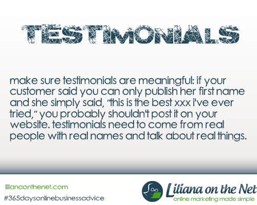 Benefits of Testimonials