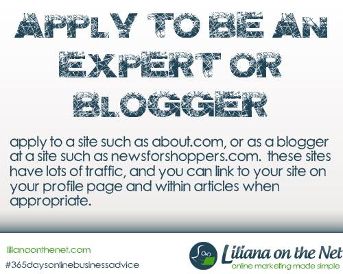 Become an Expert and Paid Guest Blogger