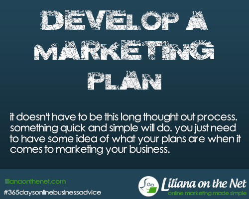 Liliana-on-the-Net-Develop-a- Marketing-Plan