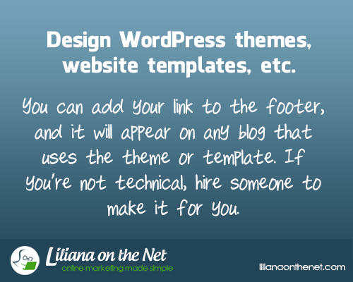 Design WordPress themes, website templates etc