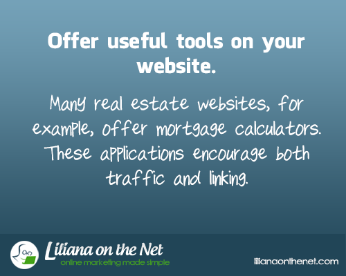 Offer useful Tools on your Blog